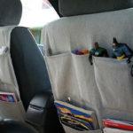 Карман автомобильного сидения