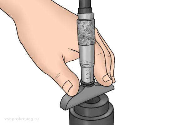 Глубинный микрометр
