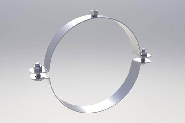Круглая металлическая скоба