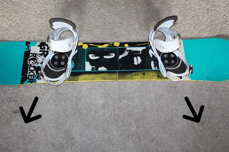 Центровка сноуборд-креплений