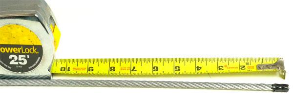 Измерение рулеткой