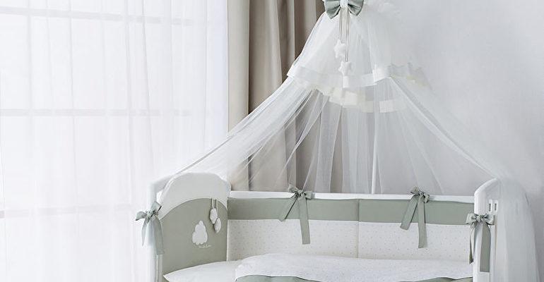 Как крепить балдахин на детскую кроватку