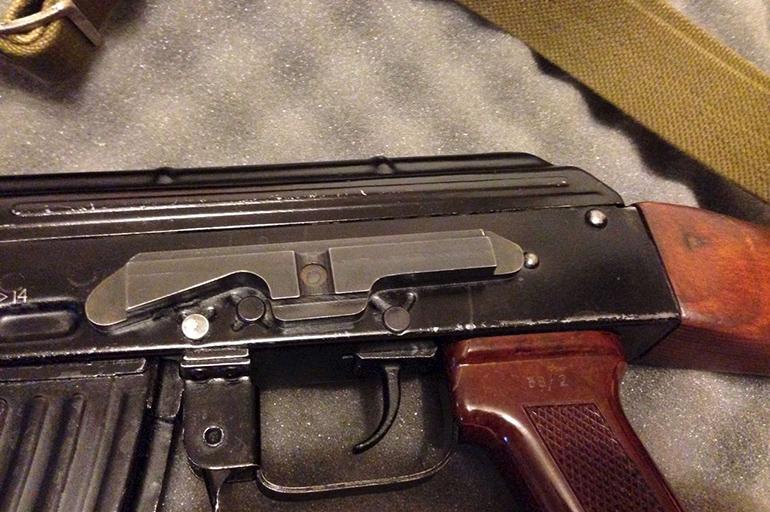 АК 47 с планкой