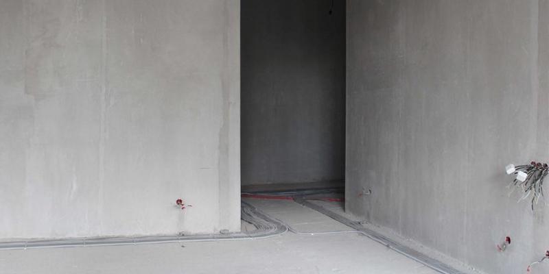 Бетонные стены